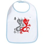 OYOOS Dragon design Bib