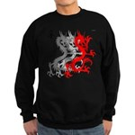 OYOOS Dragon design Sweatshirt (dark)