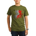 OYOOS Dragon design Organic Men's T-Shirt (dark)