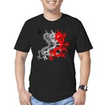 OYOOS Dragon design Men's Fitted T-Shirt (dark)