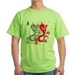 OYOOS Dragon design Green T-Shirt