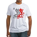 OYOOS Dragon design Fitted T-Shirt