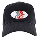 OYOOS Dragon design Black Cap