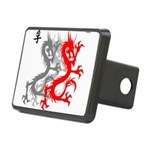 OYOOS Dragon design Rectangular Hitch Cover