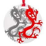 OYOOS Dragon design Round Ornament
