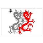 OYOOS Dragon design Large Poster