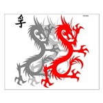 OYOOS Dragon design Small Poster
