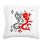 OYOOS Dragon design Square Canvas Pillow