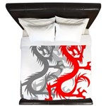 OYOOS Dragon design King Duvet
