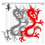 OYOOS Dragon design Shower Curtain