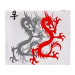 OYOOS Dragon design Throw Blanket