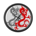 OYOOS Dragon design Large Wall Clock
