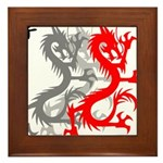 OYOOS Dragon design Framed Tile