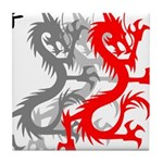 OYOOS Dragon design Tile Coaster