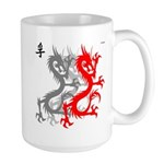OYOOS Dragon design Large Mug