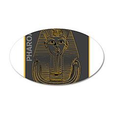 OYOOS Pharoah design 20x12 Oval Wall Decal