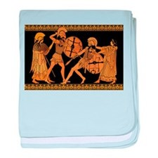 Achilles Slaying Hector baby blanket