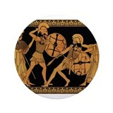 "Achilles Slaying Hector 3.5"" Button"