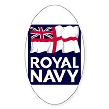Royal Navy Oval Decal