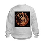 OYOOS Infamous Basketball design Kids Sweatshirt