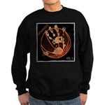OYOOS Infamous Basketball design Sweatshirt (dark)