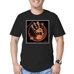 OYOOS Infamous Basketball design Men's Fitted T-Sh
