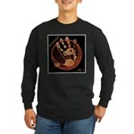OYOOS Infamous Basketball design Long Sleeve Dark