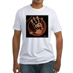 OYOOS Infamous Basketball design Fitted T-Shirt