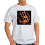 OYOOS Infamous Basketball design Light T-Shirt