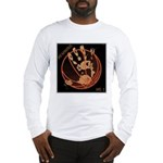 OYOOS Infamous Basketball design Long Sleeve T-Shi