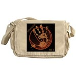 OYOOS Infamous Basketball design Messenger Bag