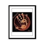 OYOOS Infamous Basketball design Framed Panel Prin