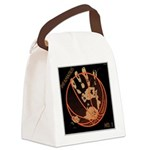 OYOOS Infamous Basketball design Canvas Lunch Bag