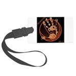 OYOOS Infamous Basketball design Large Luggage Tag