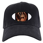 OYOOS Infamous Basketball design Black Cap