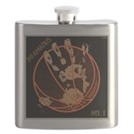 OYOOS Infamous Basketball design Flask