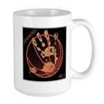 OYOOS Infamous Basketball design Large Mug