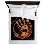OYOOS Infamous Basketball design Queen Duvet