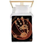 OYOOS Infamous Basketball design Twin Duvet