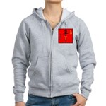 OYOOS Loyalty design Women's Zip Hoodie