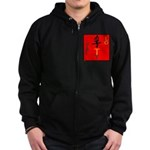 OYOOS Loyalty design Zip Hoodie (dark)