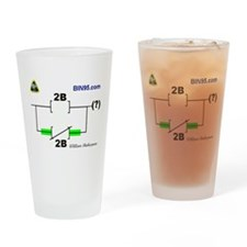 2Bnot2B Ladder Logic Drinking Glass