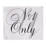 OYOOS No1 Only design Throw Blanket