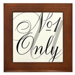 OYOOS No1 Only design Framed Tile