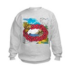 OYOOS Travel Vacation design Kids Sweatshirt