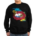 OYOOS Travel Vacation design Sweatshirt (dark)