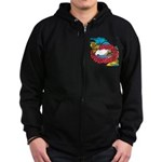 OYOOS Travel Vacation design Zip Hoodie (dark)