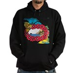OYOOS Travel Vacation design Hoodie (dark)