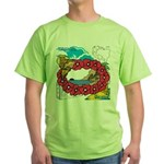 OYOOS Travel Vacation design Green T-Shirt