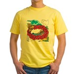 OYOOS Travel Vacation design Yellow T-Shirt